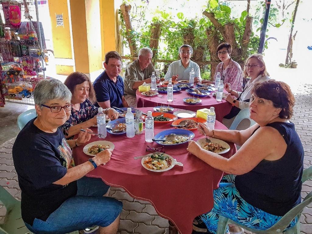 Lunch in Serian