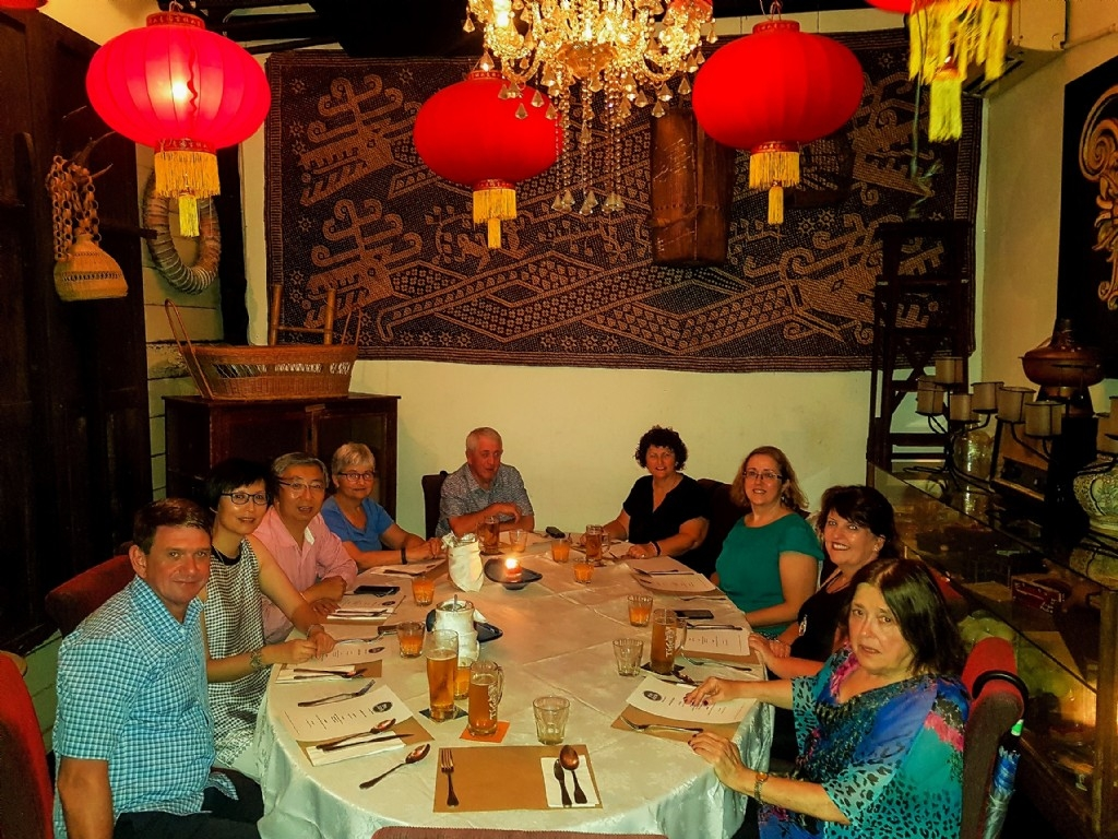 Farewell dinner, Kuching