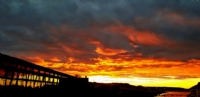Spectacular sunsets at The Singular Hotel, Torres del Paine National Park
