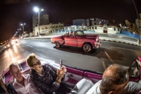 1950's American car ride to Tropicana show, Havana...photo by Ken H