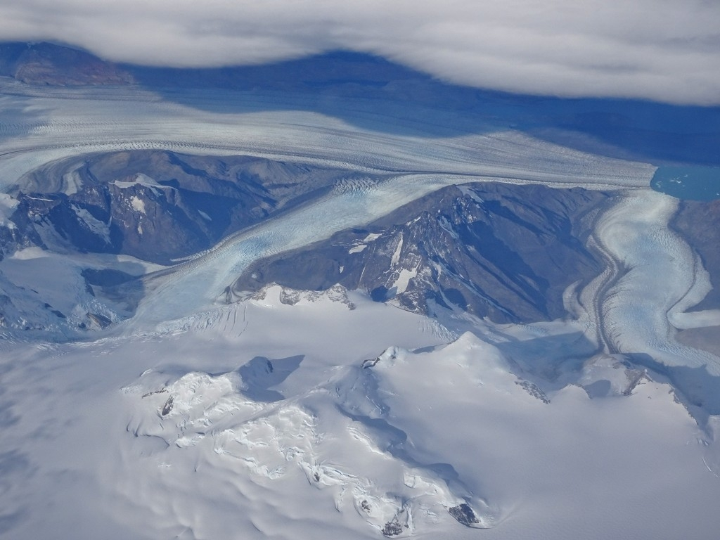 Southern Chile from the air