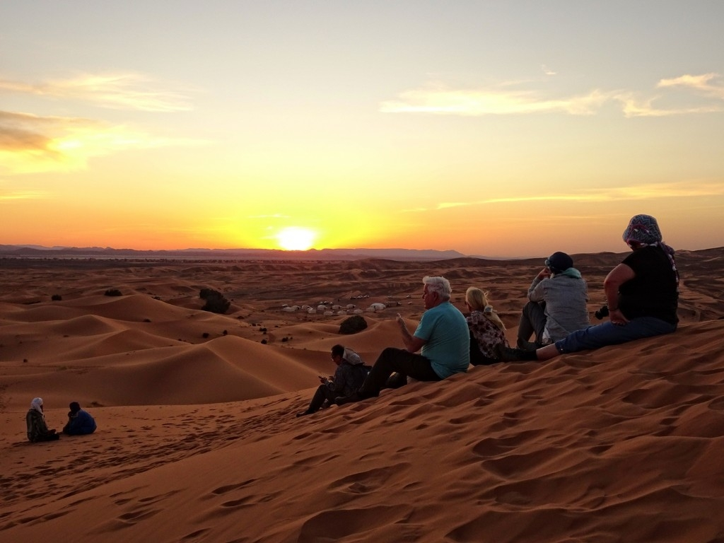 Sunset Sahara Desert Safari