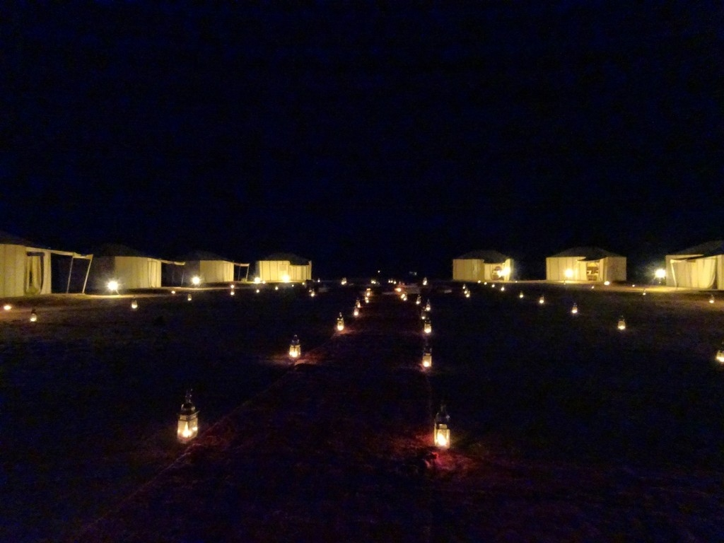 Our glamping tents...Sahara Desert Safari