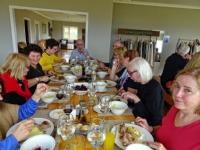 Lunch at La Peninsula Ranch