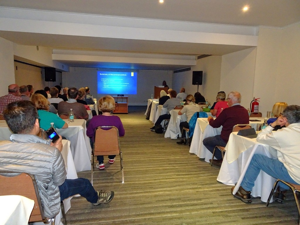 Conference sessions, Punta Arenas