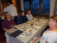 Stella Australis cruise dinner