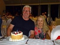 One of 3 birthdays on the trip, Iguazu Falls