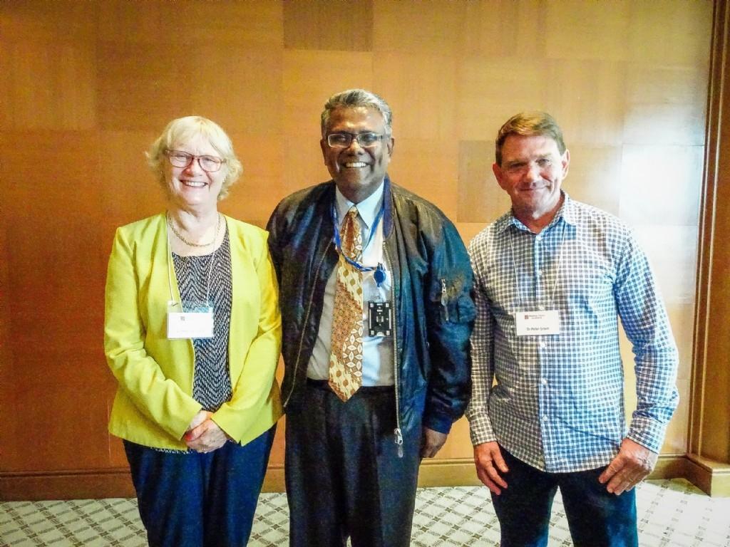 Drs Helen Gillespie, Peter Grant & Praba
