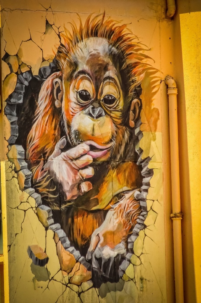 Mural, Kuching