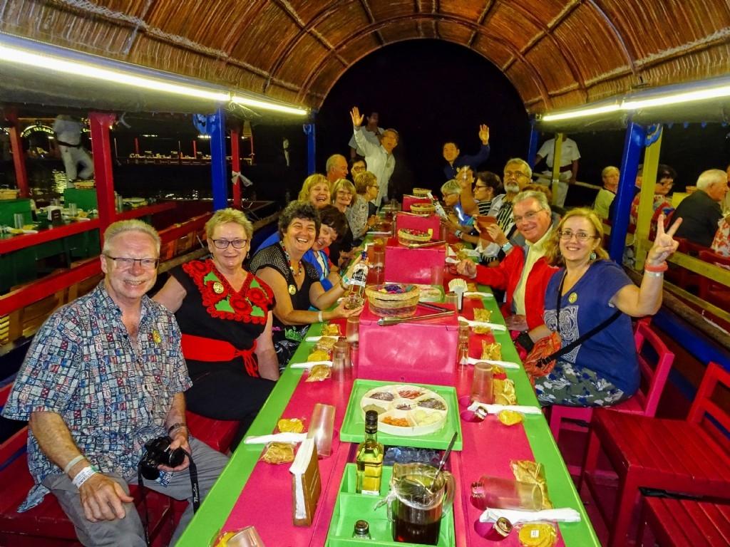 Mexican fiesta gala dinner