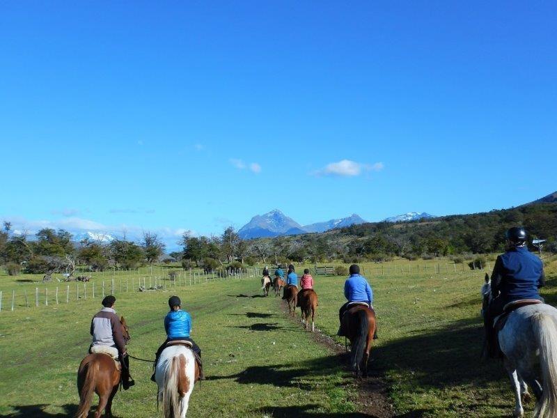 Horse riding excursion, The Singular