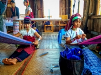 Weaving workshop,  Lake