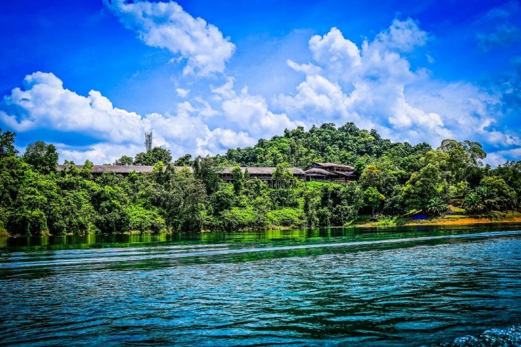 Our longhouse hotel, Batang Ai National Park