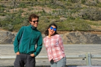 Our lovely expedition guides, Torres del Paine National Park