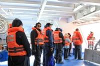 Getting ready to disembark for Pia Glacier