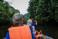 Longboating in Mulu National Park