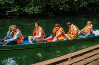 Longboating, Mulu National Park