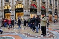 Galleria Vittorio Emanuele II shopping arcade, Milan