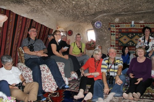 Fairy Chimney house visit, Cappadocia