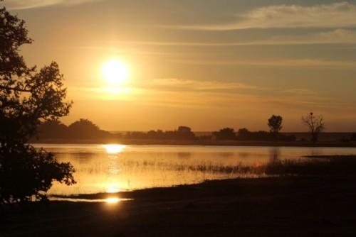 Sunrise over the Chobe River