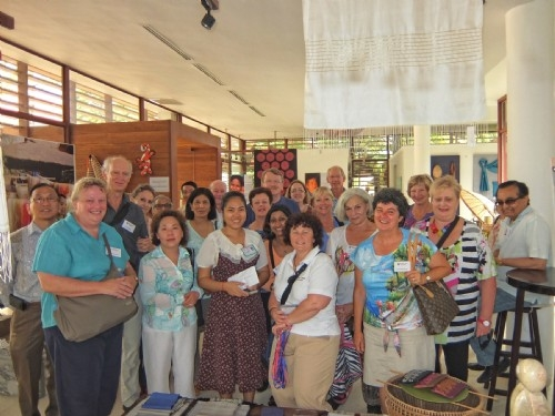 Doctors visiting the Angkor Children's Hospital