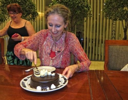 Happy birthday! Post conference tour - Saigon