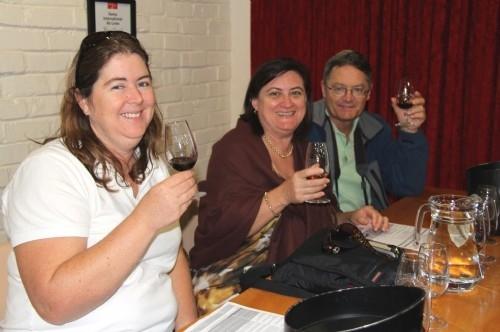 Wine tasting at Groot Constantia