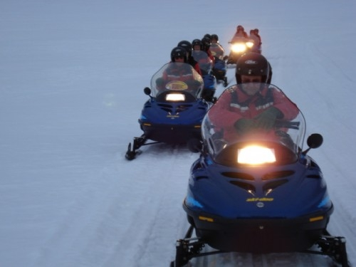 Skidooing in Iceland