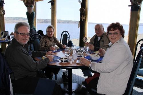 Lunch break, Nova Scotia