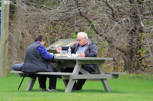 Picnic in the park, Cape Breton