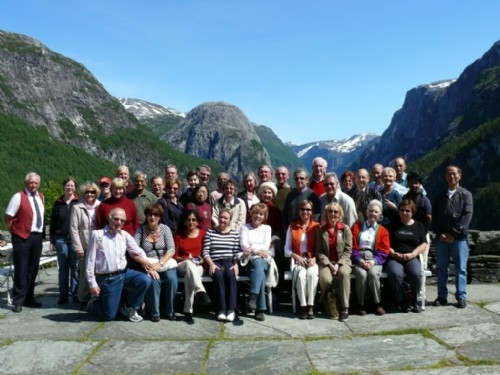 Norway & Stockholm tour group