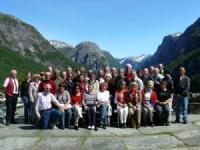 Norway & Stockholm tour group