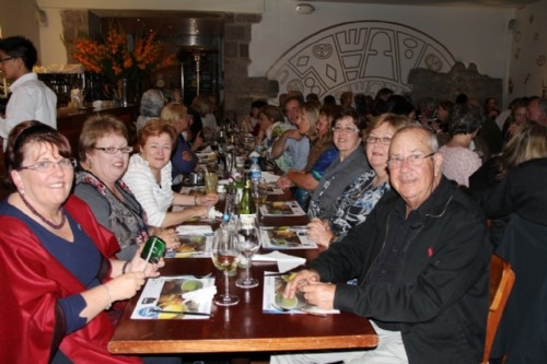 Farewell dinner, Cusco