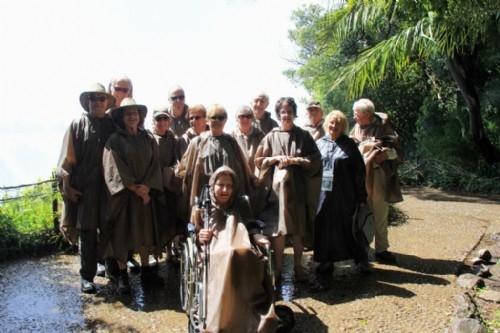 Wet delegates, Victoria Falls