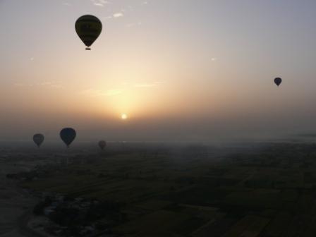 Hot Air Balloon adventure over Luxor